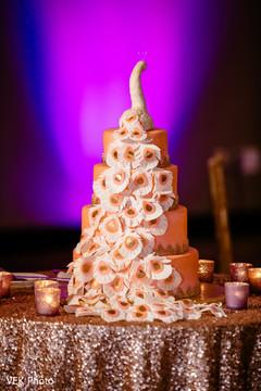 Incredible Indian wedding cake topper.