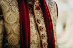 See this details on  Indian groom sherwani.