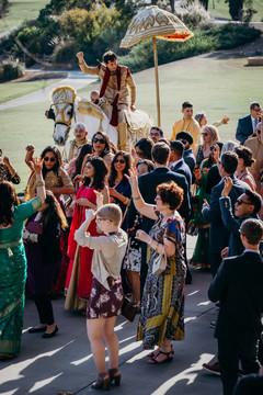 Baraat celebration photography