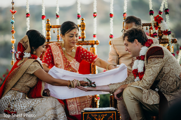 Take a look at this traditonal wedding ceremony ritual.