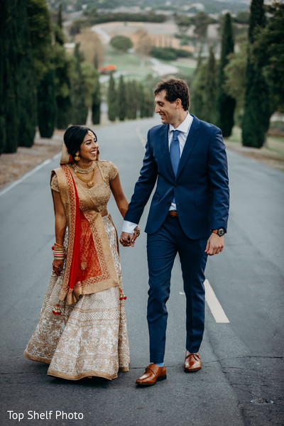 Indian lovebirds heartwarming moment.