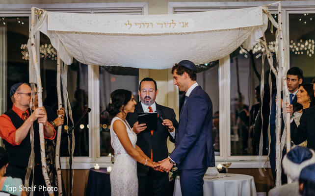 Indian Jewish wedding ceremony capture.