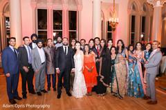 Spectacular indian wedding reception photography.