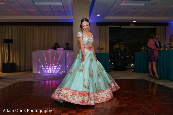 Incredible Indian bridal sangeet fashion.