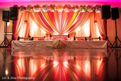 Overview of the Indian wedding stage
