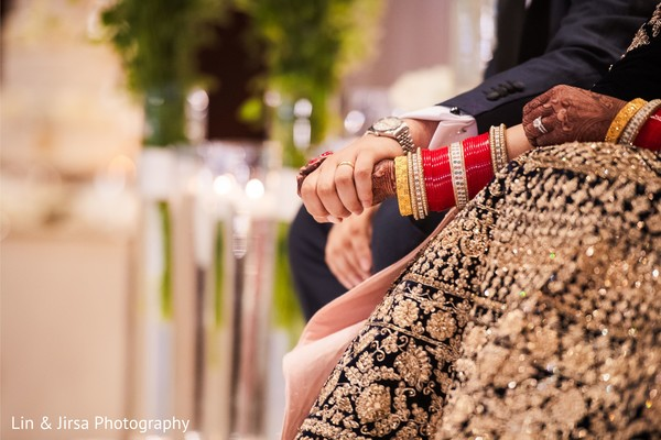 Maharani's mehndi and jewelry details