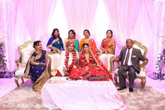 Incredible Indian couple's photo with relatives.