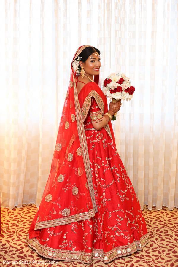 Stunning maharani's ceremony lehenga outfit.