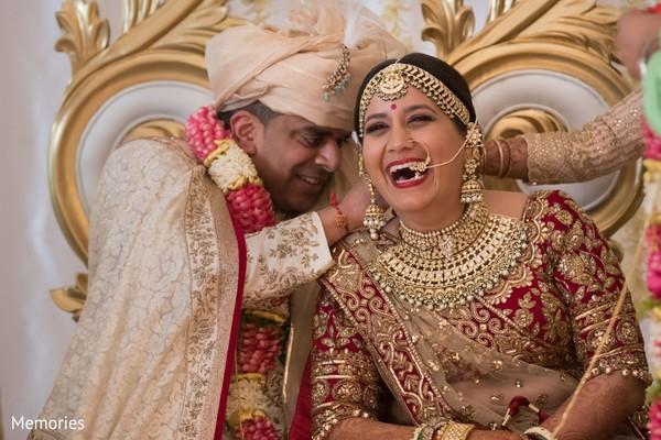 Indian bride looking fabulous