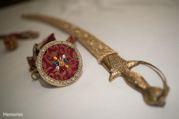 Kirpan used by Indian groom