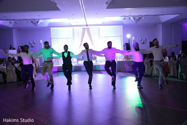 Memorable Indian groom's dance performance.