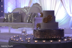 Marvelous indian wedding cake.