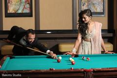 Indian newlyweds heartfelt moment.