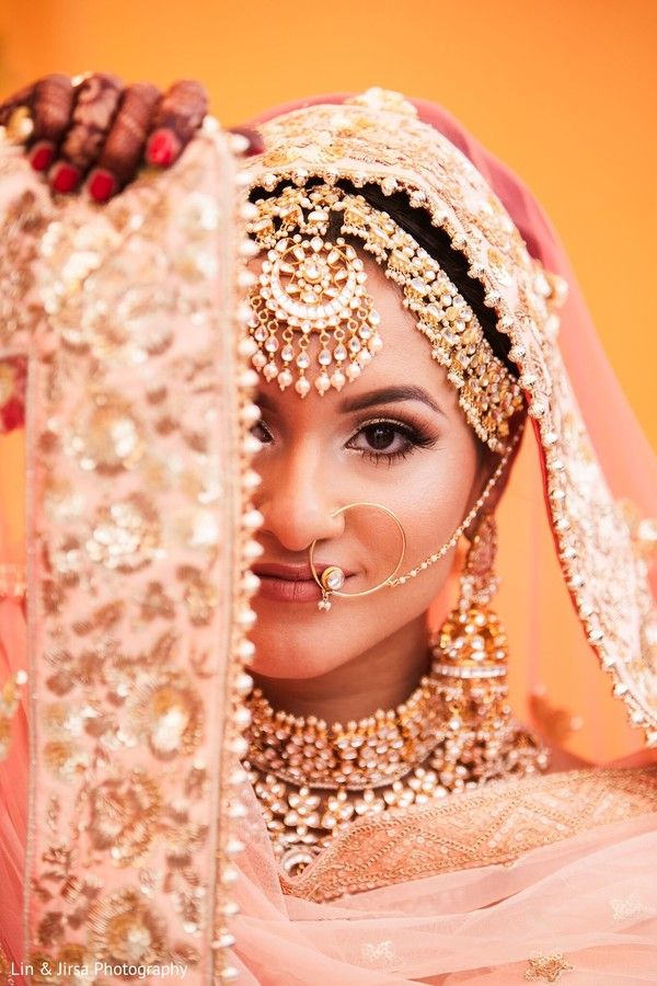 Indian bride looking gorgeous