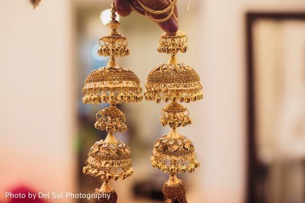 Stunning Indian bridal Kalire.