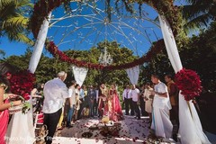 Stunning capture of Indian wedding ceremony.