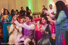 Special sangeet guests capture.
