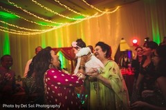 Lovely capture of Indian guests at sangeet.