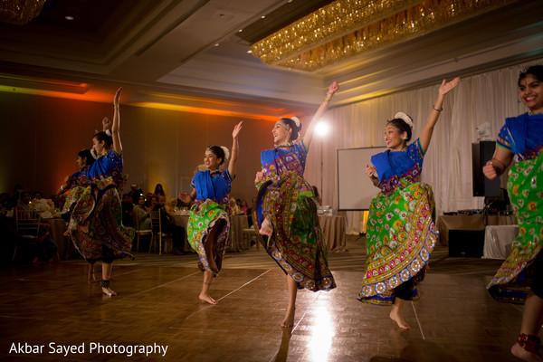 Indian wedding dancers capture.