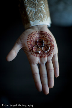 Indian wedding rings capture.