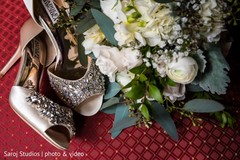 Shoes used by the Indian bride