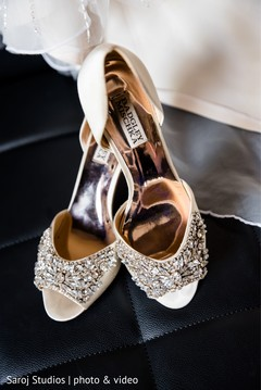 Shoes used by the Maharani for the bash
