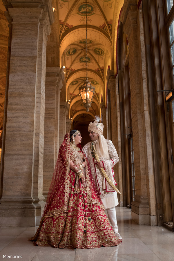 Gorgeous shot of the Indian couple