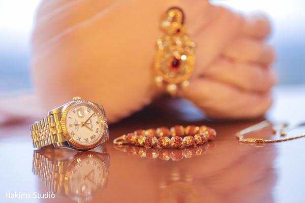 Stunning Indian groom's ceremony jewelry.