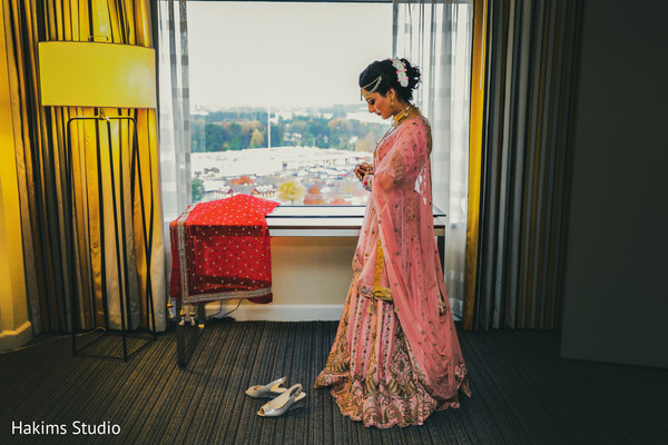 Maharani getting ready for her big day.