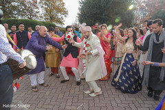 Sensational indian baraat procession.