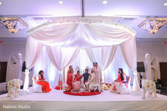 Stunning view of Indian wedding ceremony ritual.
