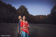 Radiant indian pre-wedding photo shoot.