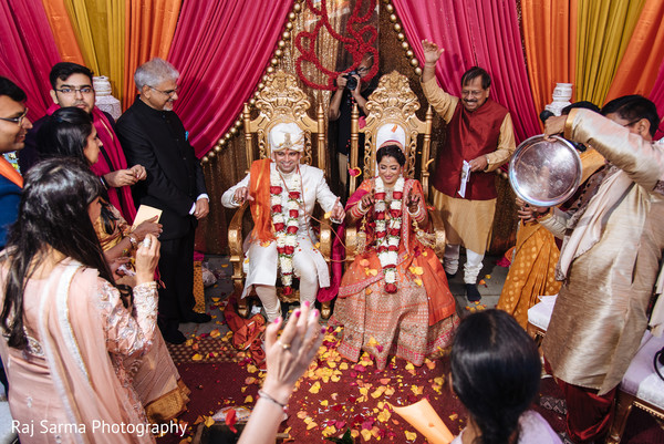 See this ravishing couple during the rituals