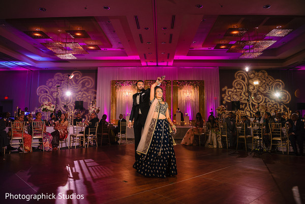Incredible Indian couple's reception first danc
