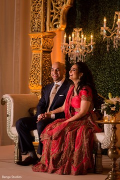 Lovely shot of the Indian couple