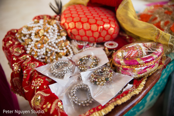 Incredible Indian pre-wedding favors.