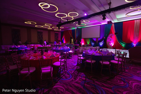 Lights decoration for sangeet party.