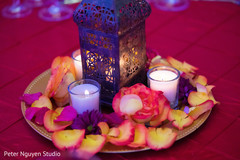 Marvelous Sangeet lantern decor.