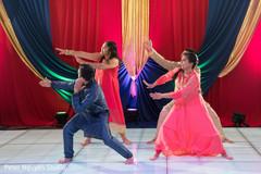 Upbeat Indian sangeet dance choreography.