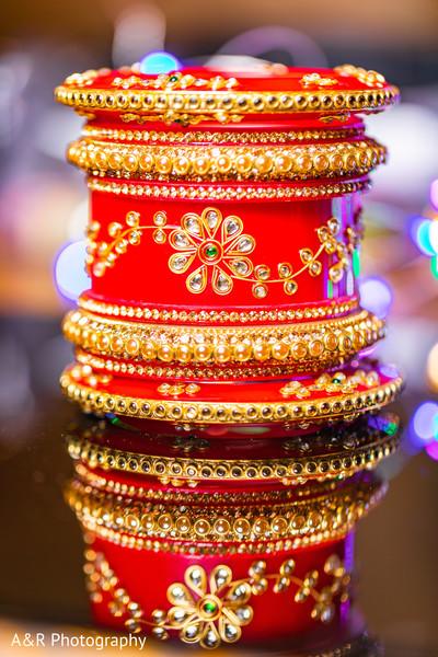 Indian bride's accessories