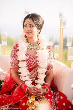 f03c8bdf86a Enchanting Indian bride at her ceremony capture.