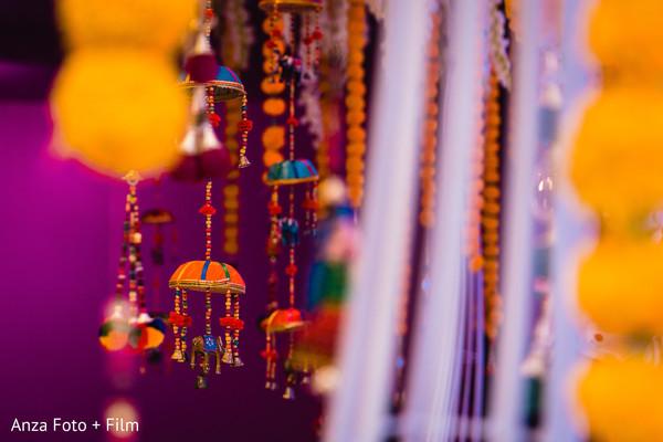 Sangeet decorations capture.