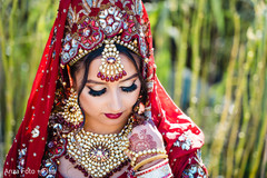 Stunning maharani's ceremony look.