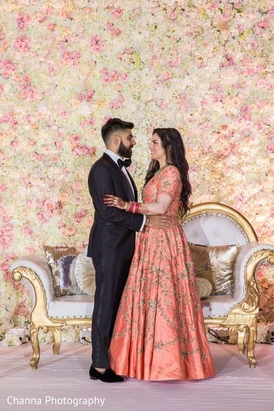 Maharani and Raja looking gorgeous