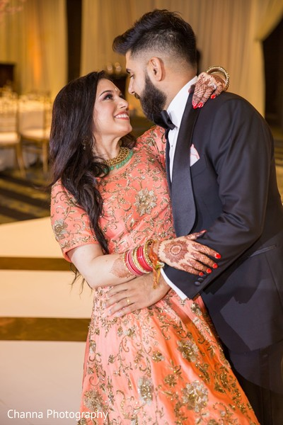 Maharani and Indian groom looking gorgeous