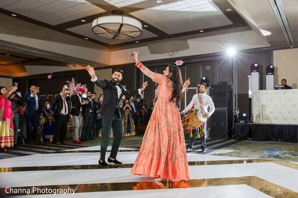 Maharani and Raja having a dance session