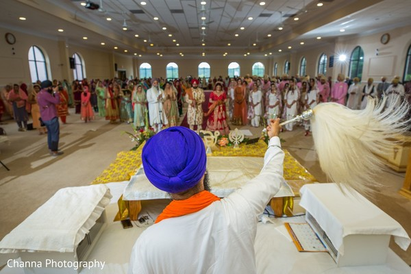 Details of the Sikh wedding ceremony