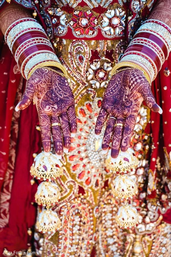 Stunning Indian bridal henna at.
