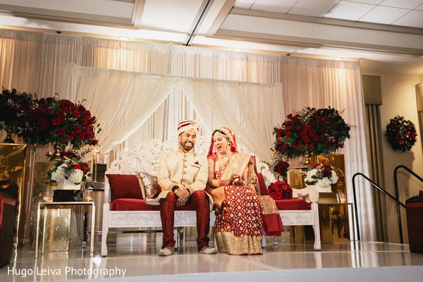 Heartwarming couple at the reception