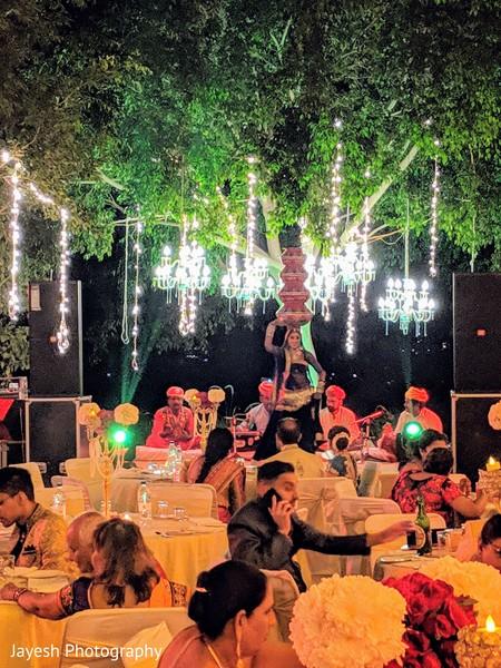 Marvelous Indian wedding dancer capture.